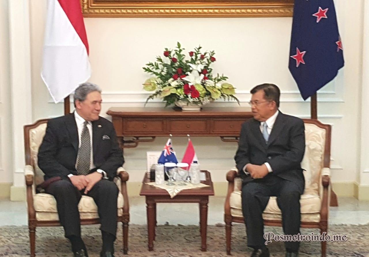 Wakil PM Selandia Baru Janji Bantu Keluarga WNI Korban Teror Wakil PM Selandia Baru