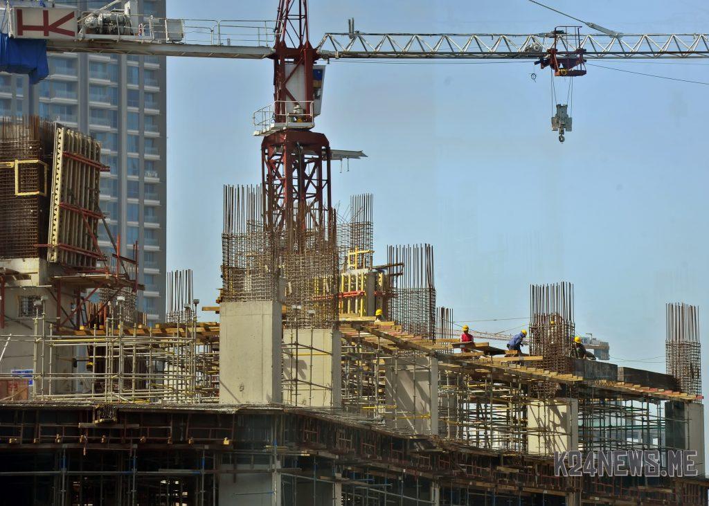 Ilustrasi pembangunan infrastruktur.
